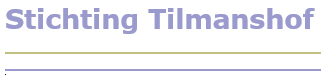 Stichting Tilmanshof